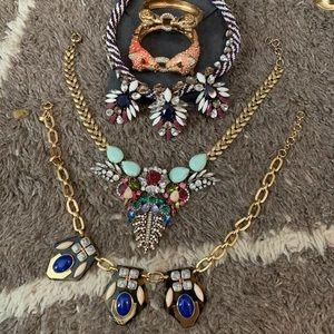 J. Crew 3 Necklaces 2 Bracelet Bundle